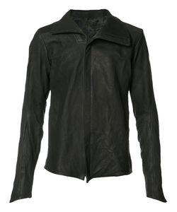 DEVOA | Front Zip High Neck Jacket 3 Calf