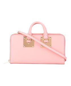 Sophie Hulme | Continental Wallet Crossbody Bag Calf