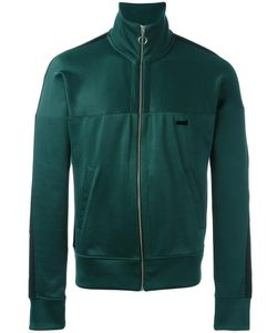 Ami Alexandre Mattiussi | Zipped Contrast Band Track Jacket Medium