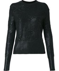Andrea Bogosian | Round Neck Knit Blouse Size P