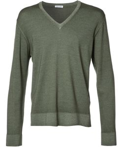 Tomas Maier | V-Neck Jumper Large Wool