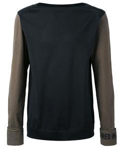 JUUN.J | Slogan Cuff And Neck T-Shirt Size 46