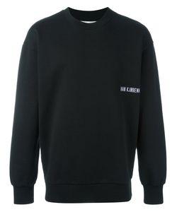 HAN KJOBENHAVN | Han Kj0benhavn Logo Print Sweatshirt Large Cotton