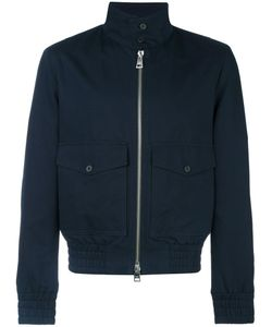 Ami Alexandre Mattiussi | High Collar Jacket Large Cotton/Acetate