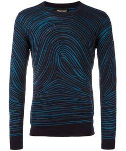 Emporio Armani   Twirled Print Sweatshirt 52 Cotton/Viscose