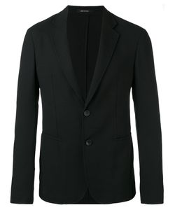 Giorgio Armani | Two Button Blazer 50 Virgin Wool/Polyamide/Spandex/Elastane/Acetate