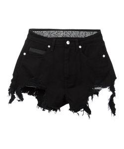 MARCELO BURLON COUNTY OF MILAN   Alin Distressed Shorts Size 26