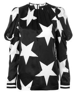 MSGM | Блузка Со Звездным Принтом
