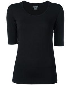 MAJESTIC FILATURES | Scoop Neck T-Shirt I Spandex/Elastane/Viscose