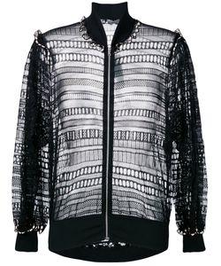 Alexander McQueen | Macramé Bomber Jacket