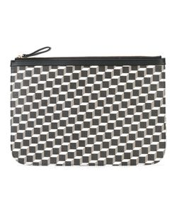 Pierre Hardy | Geometric Print Zipped Clutch