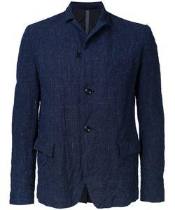 KAZUYUKI KUMAGAI | Woven Button Blazer 1 Cotton/Linen/Flax/Wool/Hemp