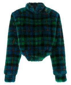ESTEBAN CORTAZAR | Textured Checked Turtleneck Sweater Women