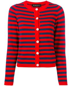 ROSSELLA JARDINI | Striped Buttoned Cardigan