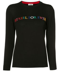 Sonia Rykiel | Embroidered Sweater M