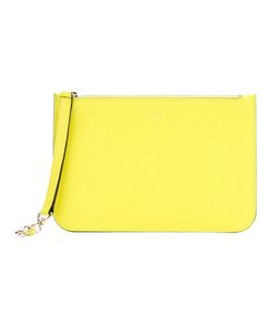 Valextra | Zipped Clutch Calf Leather