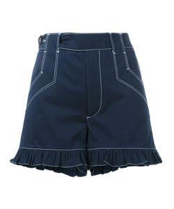 Ganni | Frill Shorts Size 36