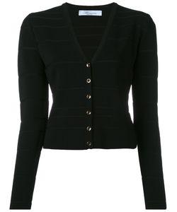 Blumarine | V-Neck Cropped Cardigan Size 46