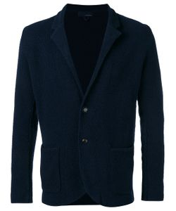 Lardini | Textured Shawl Collar Jacket