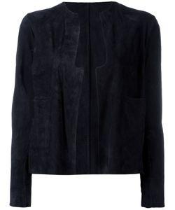 SALVATORE SANTORO | Suede Jacket 44 Leather
