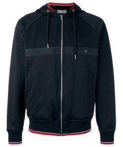 Dior Homme | Striped Detail Hooded Jacket Large Polyamide/Spandex/Elastane/Virgin