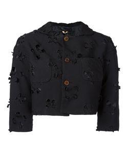 COMME DES GARCONS COMME DES GARCONS | Comme Des Garçons Comme Des Garçons Cut-Out Detail Cropped Jacket