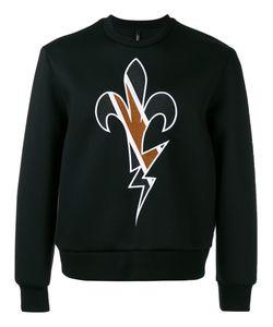 Neil Barrett | Embroidered Sweatshirt Size Large