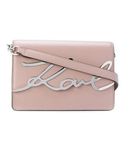 Karl Lagerfeld | Logo Plaque Shoulder Bag Women Calf