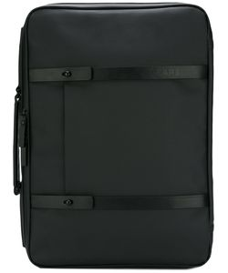 GEAR3 | Briefcase Backpack Leather/Canvas