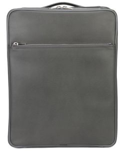 Valextra | Leather Zip Suitcase Leather