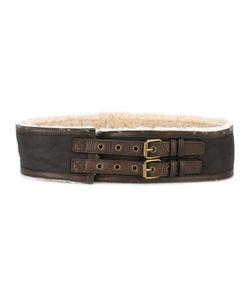 JEAN PAUL GAULTIER VINTAGE   Sheepskin Lined Belt Size
