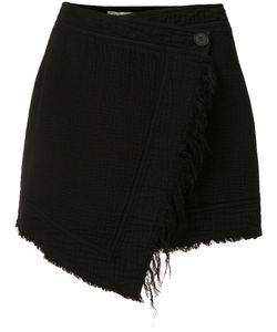 Raquel Allegra | Mini Wrap Skirt