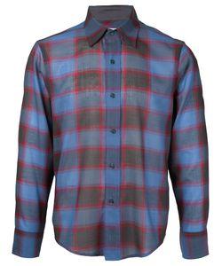 FACETASM   Plaid Longsleeve Shirt 5