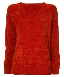 En Route | Cutout Chenille Sweatshirt Women