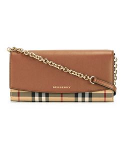 Burberry | House Check Shoulder Bag Calf Leather/Polyamide/Polyester