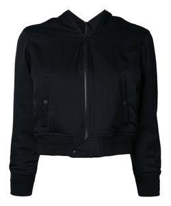 Rito   Cropped Bomber Jacket Size 38 Silk/Polyurethane