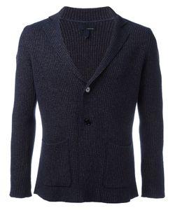 Lardini | Waffle Knit Blazer Small Cotton