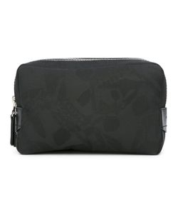 Alexander McQueen | Skull Print Makeup Bag Calf Leather/Cotton