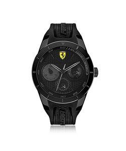 Ferrari | Scuderia Redrev Stainless Steel Case And Silicone Strap Mens