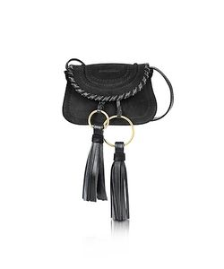 See by Chloé | Polly Suede Leather Mini Crossbody Bag W/Tassels