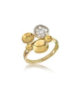 Orlando Orlandini | 18k Ring W/Diamond