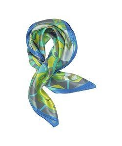 Laura Biagiotti | And Geometric Print Satin Silk Bandana