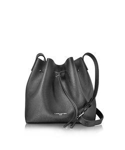 LANCASTER PARIS | Purelement Saffiano Calf-Leather Bucket Bag