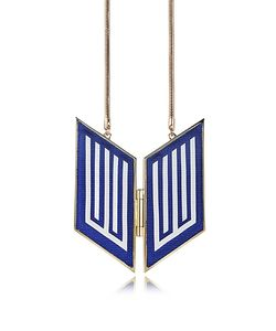 Avril 8790 | Rigore Easy Palladium Plated Brass And Viscose Necklace