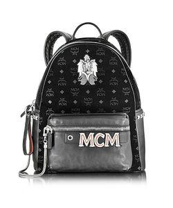MCM | Stark Velvet Insignia Рюкзак Среднего Размера