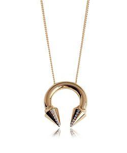 VITA FEDE | Titan Ожерелье Оттенка Розового Золота С Кристаллами