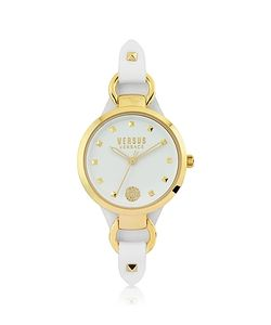 Versace Versus | Roslyn Tone Stainless Steel Leather Watch