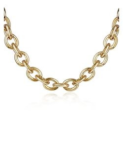 AZ Collection | Plated Chain Toggle Necklace