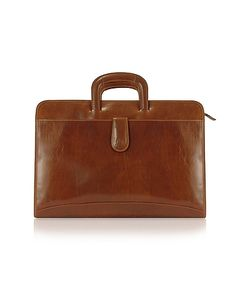 Chiarugi | Handmade Genuine Italian Leather Portfolio Briefcase