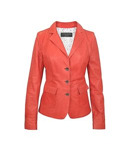 Forzieri | Three-Button Leather Jacket